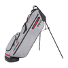 Ping Hoofer Craz-E Lite Stand Bag Grey Black Scarlet