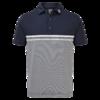 FootJoy Lisle Engineered End on End Stripe Shirt