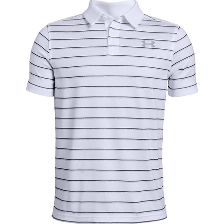 Under Armour Threadborne Stripe Kids Polo
