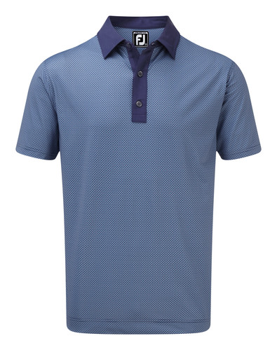Footjoy Stretch Lisle Basketweave Print