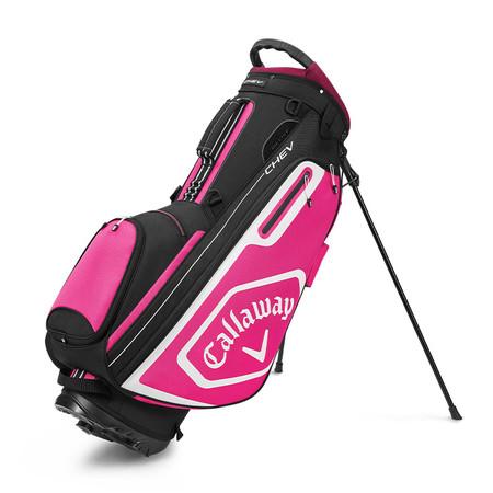 Callaway Chev Stand Bag Black/Pink