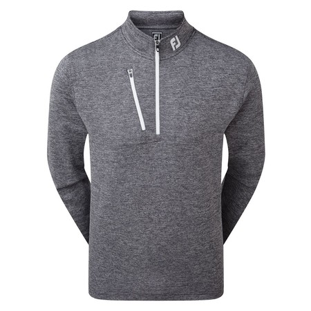 FootJoy Heather Pinstripe Chill-Out Pulover
