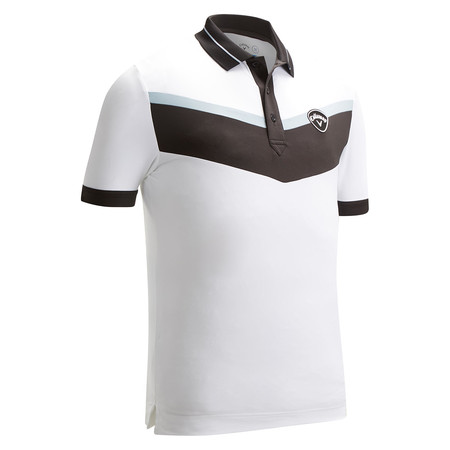 Callaway SS 3 Color Block Polo W Tipping