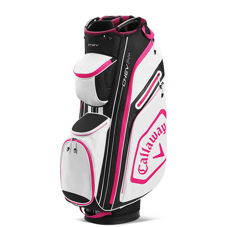 Callaway Chev 14 Cart Bag Black/Pink