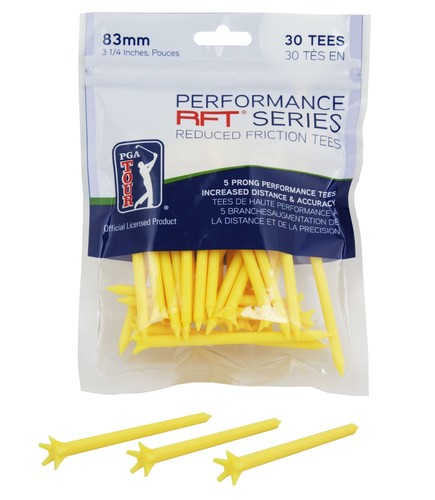 PGA Tour Performance Rft Series Tees 83mm 30 Pack