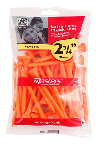 "Plastic Tees  Bag 30 2 3/4"""