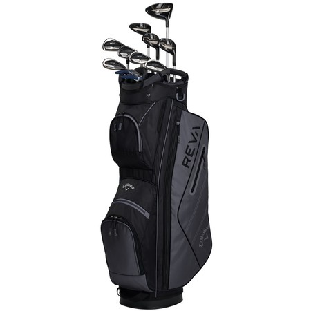 Callaway Big Bertha REVA 11-Piece Complete Set Black Ladies