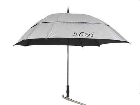 Jucad Windproof Teleskop Umbrella
