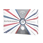 Callaway Supersoft 19 White Balls