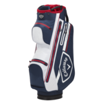 Callaway Chev 14 Dry Cart Bag Navy/White/Red